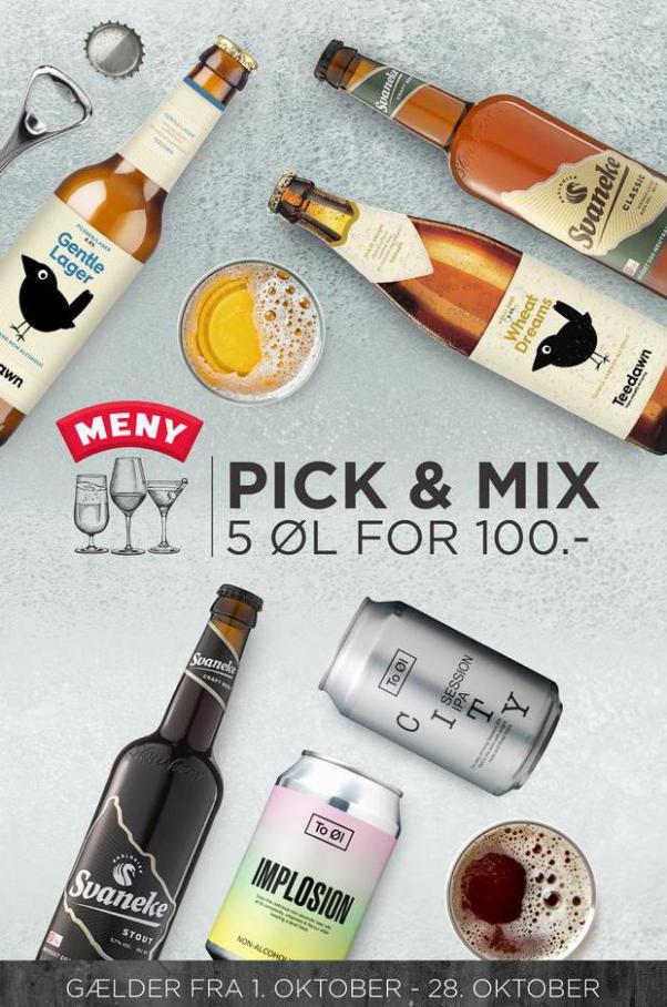Pick n mix oktober. MENY (2021-10-28-2021-10-28)