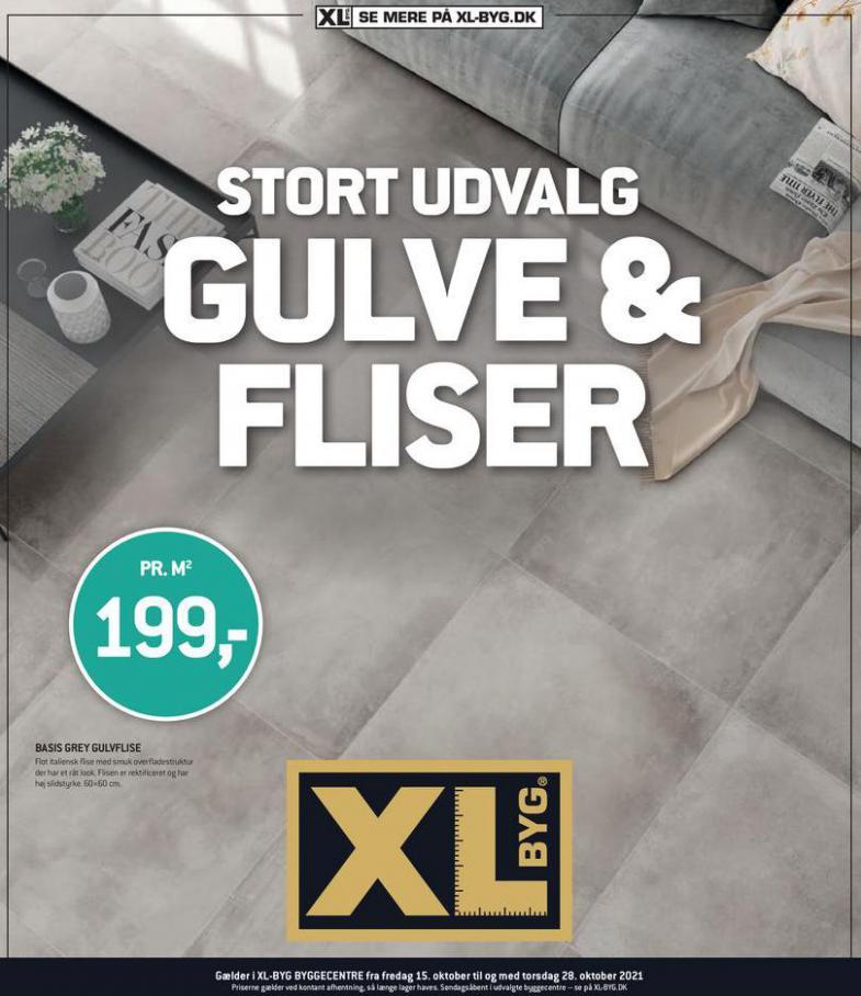 Gulve & Fliser. XL-BYG (2021-10-31-2021-10-31)