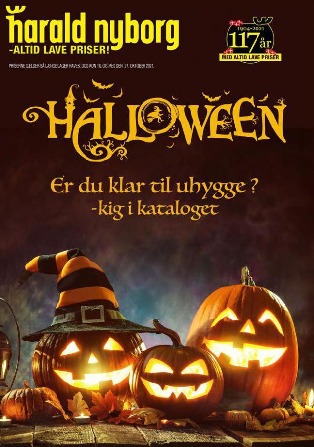 Harald Nyborg Tilbudsavis Halloween. Harald Nyborg (2021-10-27-2021-10-27)