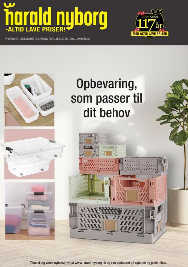 Harald Nyborg Tilbudsavis Opbevaring. Harald Nyborg (2021-10-27-2021-10-27)