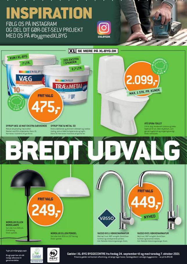 Bredt Udvalg. XL-BYG (2021-10-07-2021-10-07)